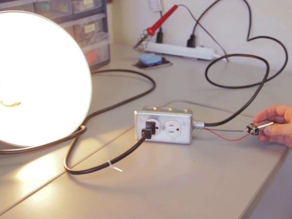 DIY Relay Outlet Arduino