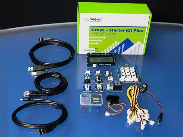 Grove Starter Kit With LinkIt One