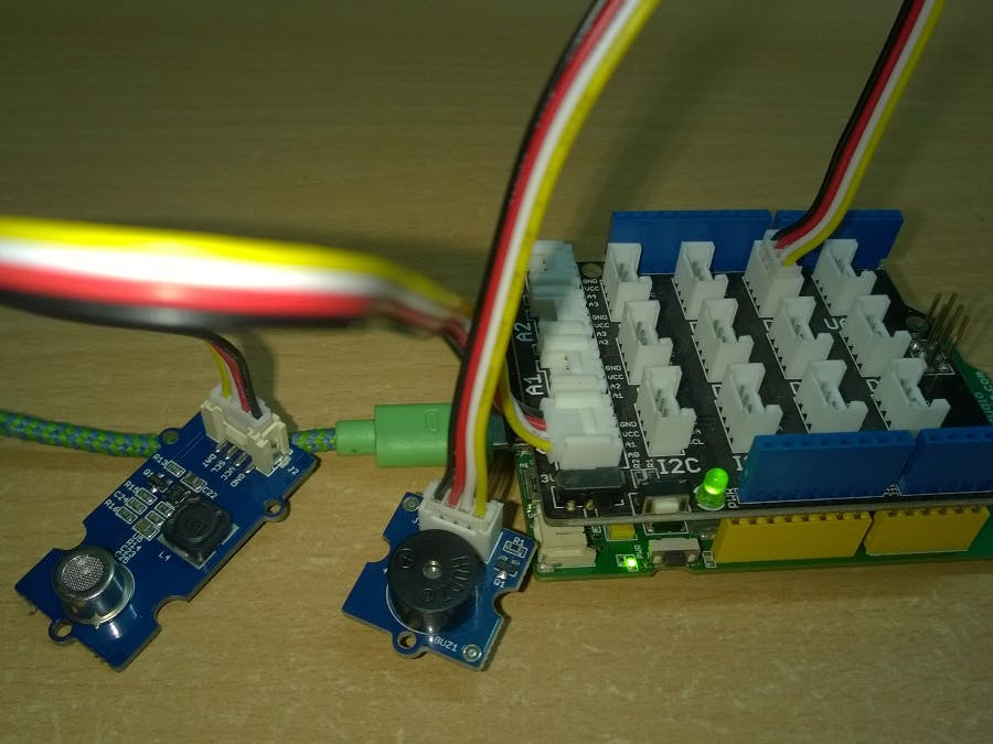 Alcohol Detection Using Linkit One