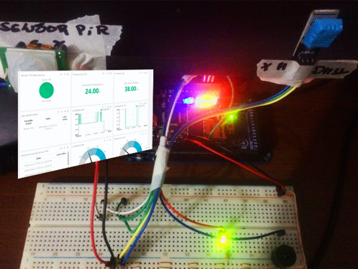 Smart Home Mini Arduino - In 30 Minutes - Posting in Ubidots
