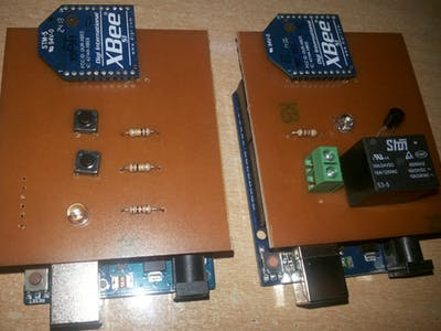 Arduino & Xbee Remote Lamp Controller