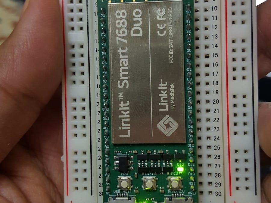 Basics of Mediatek LinkIt Smart 7688