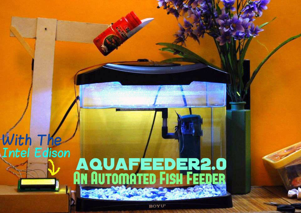 AquaFeeder 2.0: Automatic Fish Feeder
