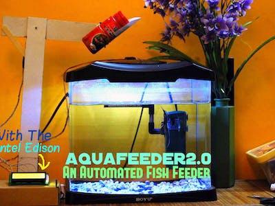 AquaFeeder 2.0: Automatic Fish Feeder