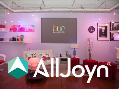 Controlling your Philips Hue bulbs with AllJoyn