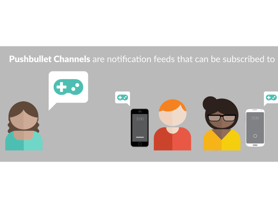 Sharing push notifications of your hardware
