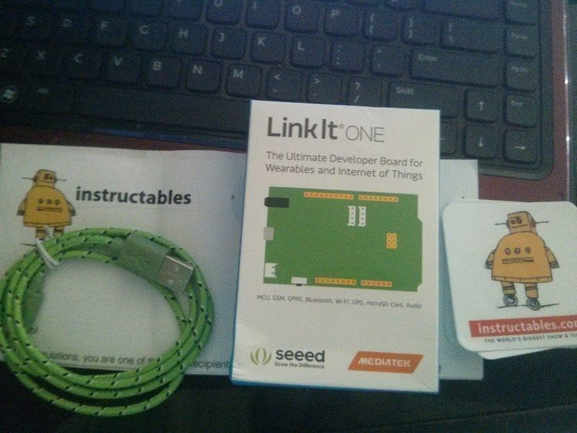 Linkit One IoT: Connected to Thingspeak