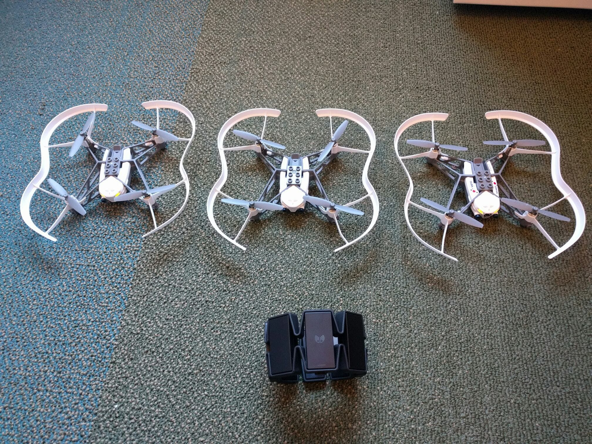 Control your Drone Swarm with Hand Gestures
