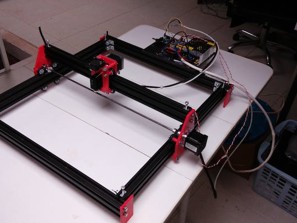 Laser engraver with arduino hackster
