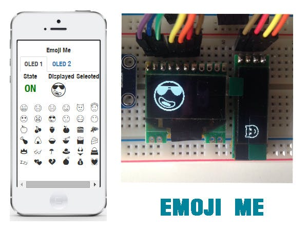 Emoji Me - send emoji to OLED display