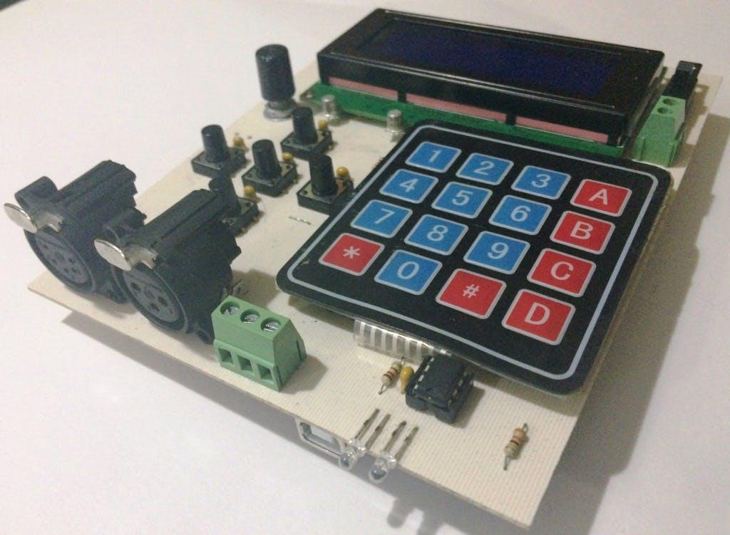 Arduino DMX-512 Tester Controller