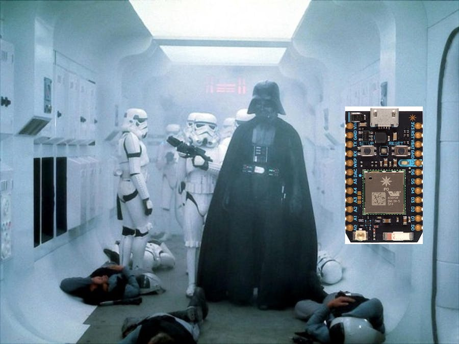 Enter the house like a Sith Lord