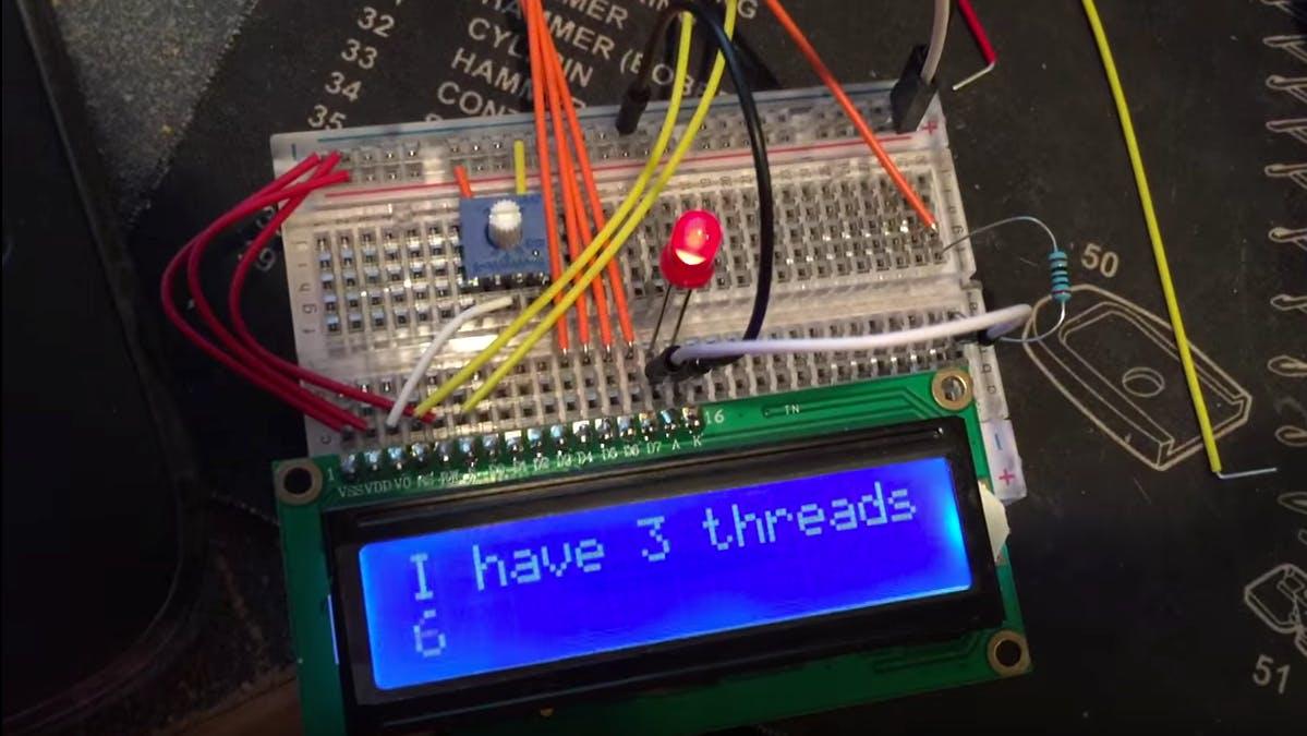 "How to ""Multithread"" an Arduino (Protothreading Tutorial)"