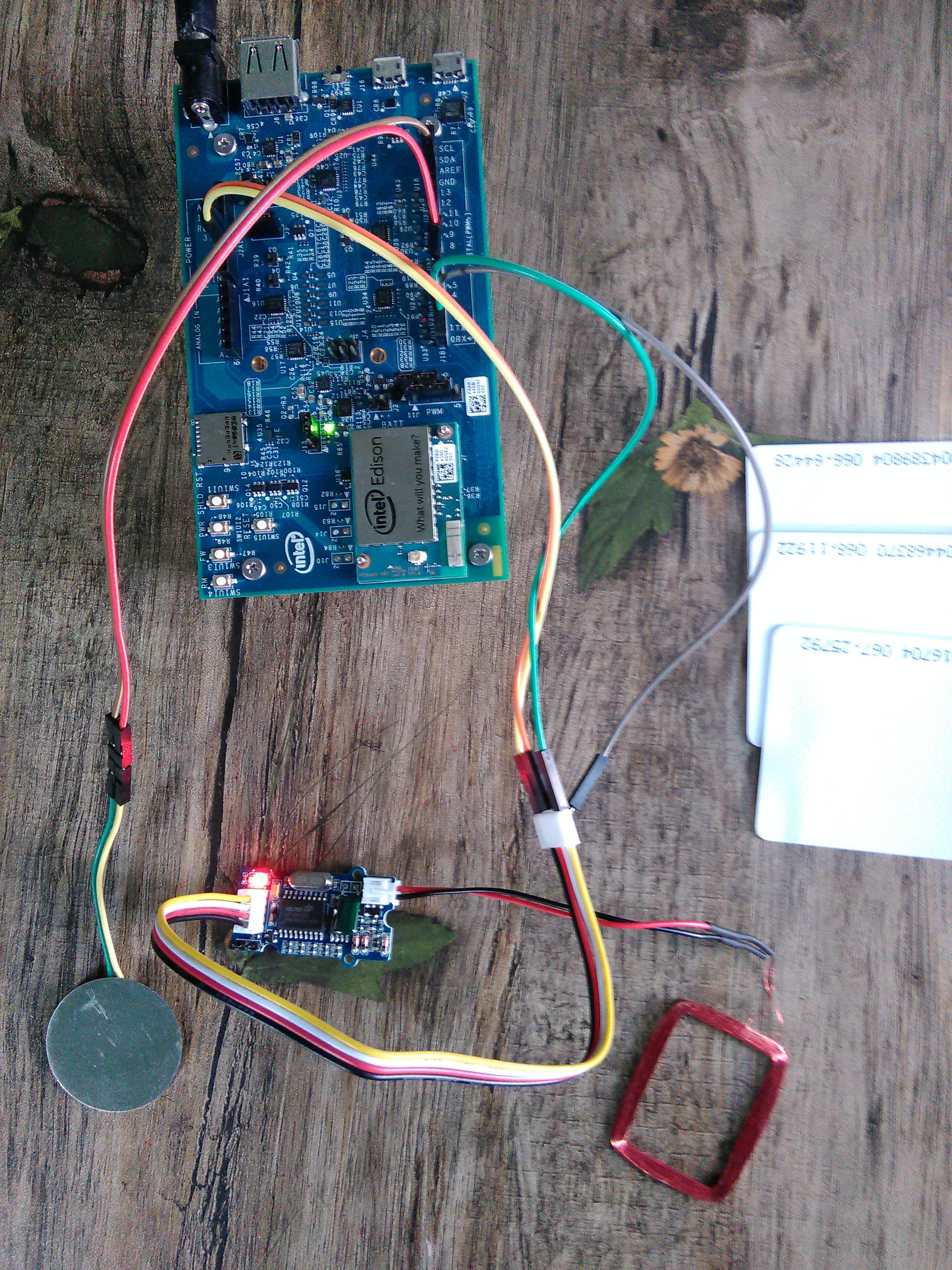 Smart Attendance System (Intel Edison Inside)