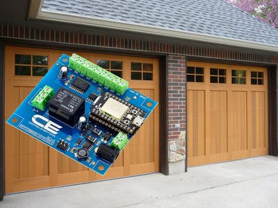 Open your garage door from an Android home screen widget!!!!