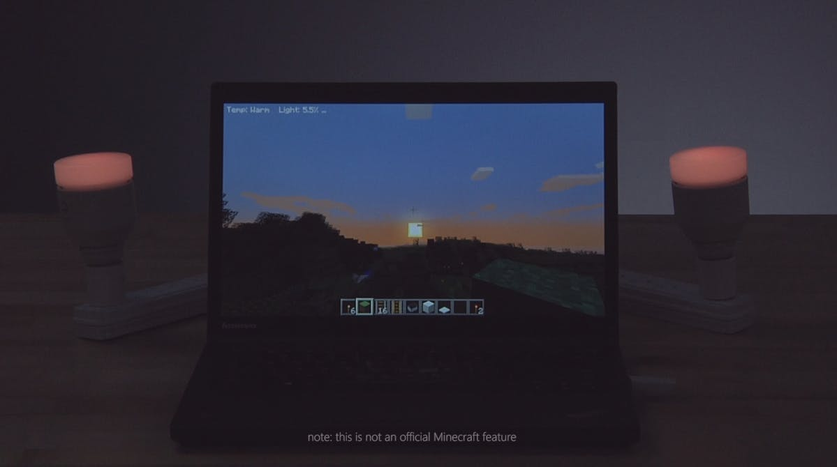 Controlling IoT Devices with AllJoyn from Minecraft