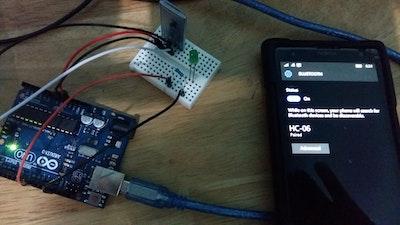 Explore with Windows Remote Arduino Experience app