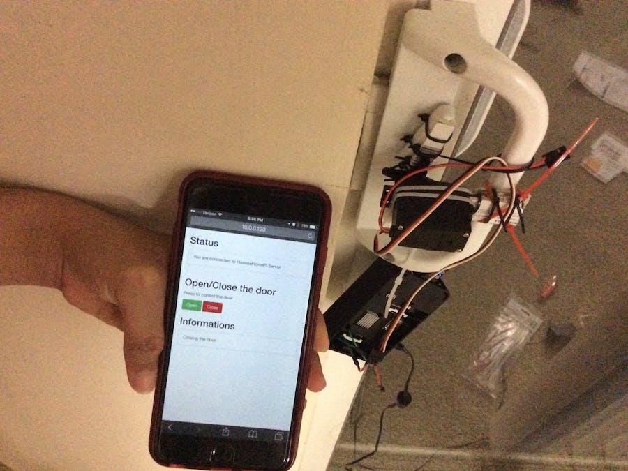Open Sesame System - Open/Close door lock with Smartphone