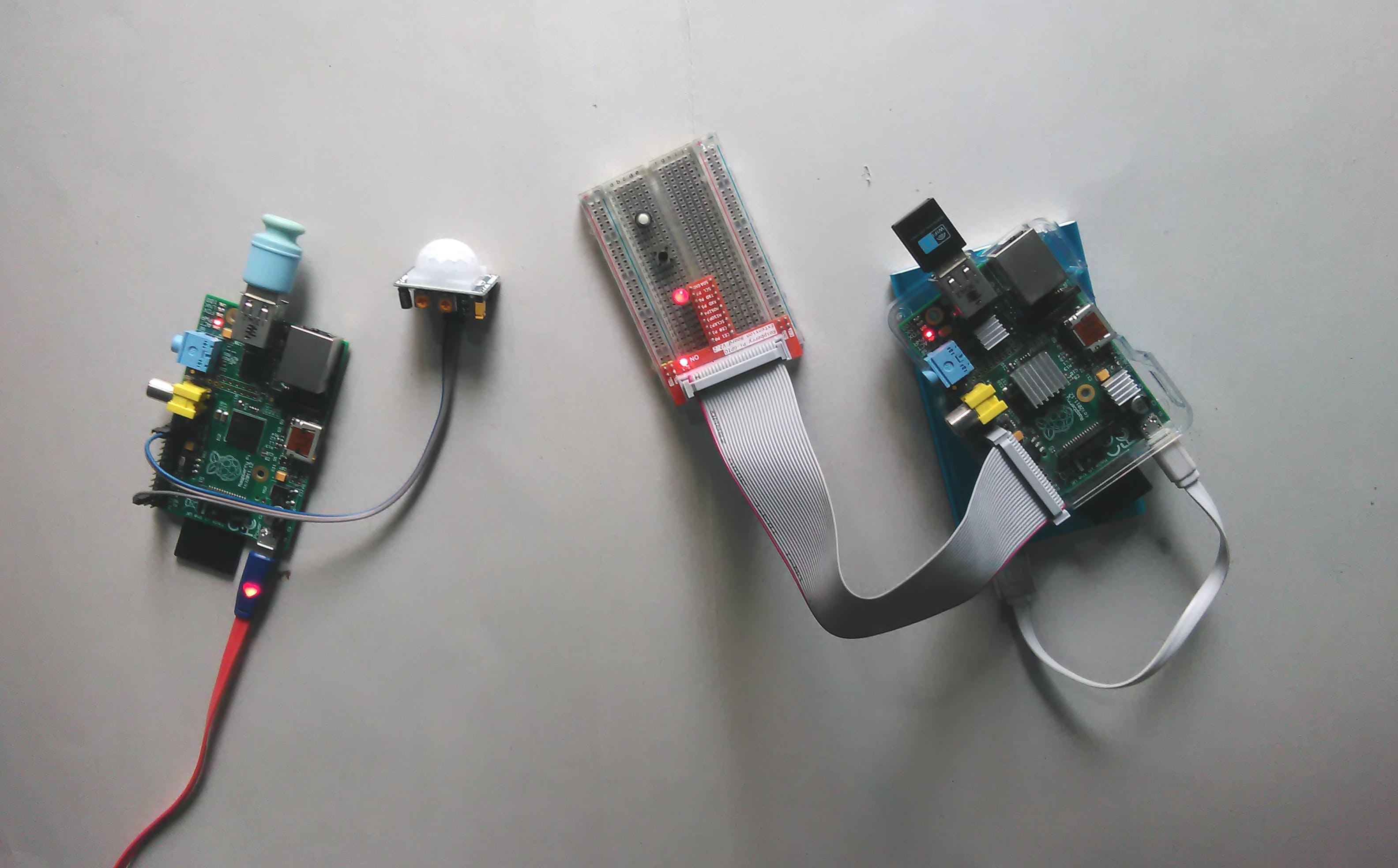 Motion Controlled AWS IoT Button