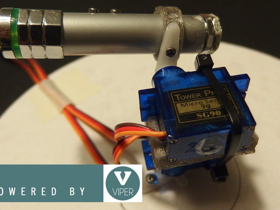 A Robotic Arm with Viper and ST Nucleo - Hackster io