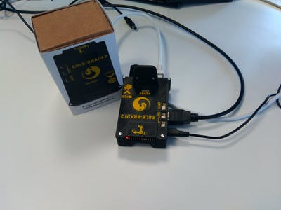 Erle-Brain 2, controlling status LEDs with ROS