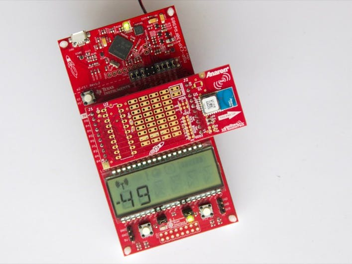 Mobile Measurement with LCD Display