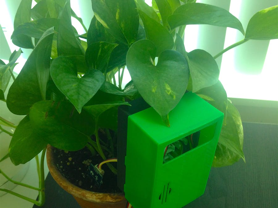Plant Monitoring System using AWS IoT - Hackster io