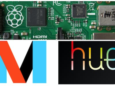 Unlock Phillips Hue With IFTTT Maker, Raspberry PI