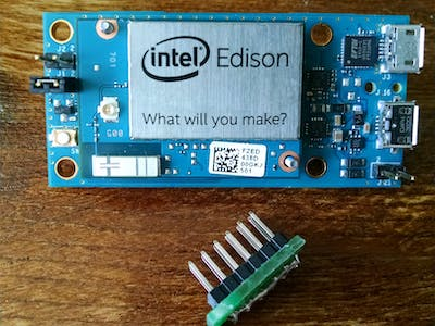 Yet Another Edison Getting Started - with the Breakout Board
