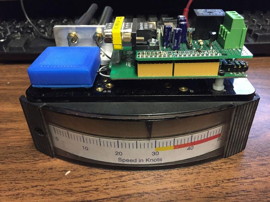 GPS Based Boat/ATV Speedometer