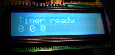 Arduino Kitchen Timer