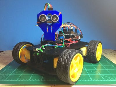 Simple multi-mode 4wd Rover JR-001