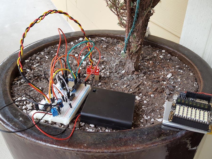 AWS IoT Remote Soil Moisture Monitor
