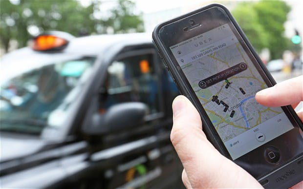 UBER Cab Booking
