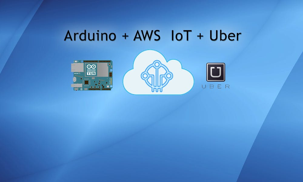 Use Uber with AWS IoT + Lambda + Arduino Starter Kit