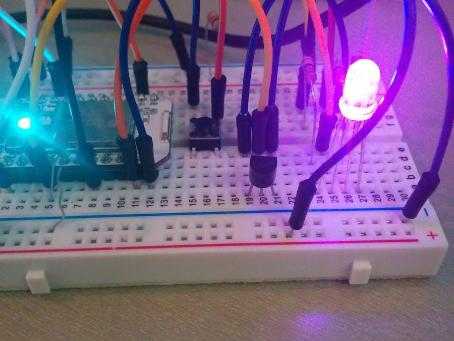 Temperature Sensitive LED