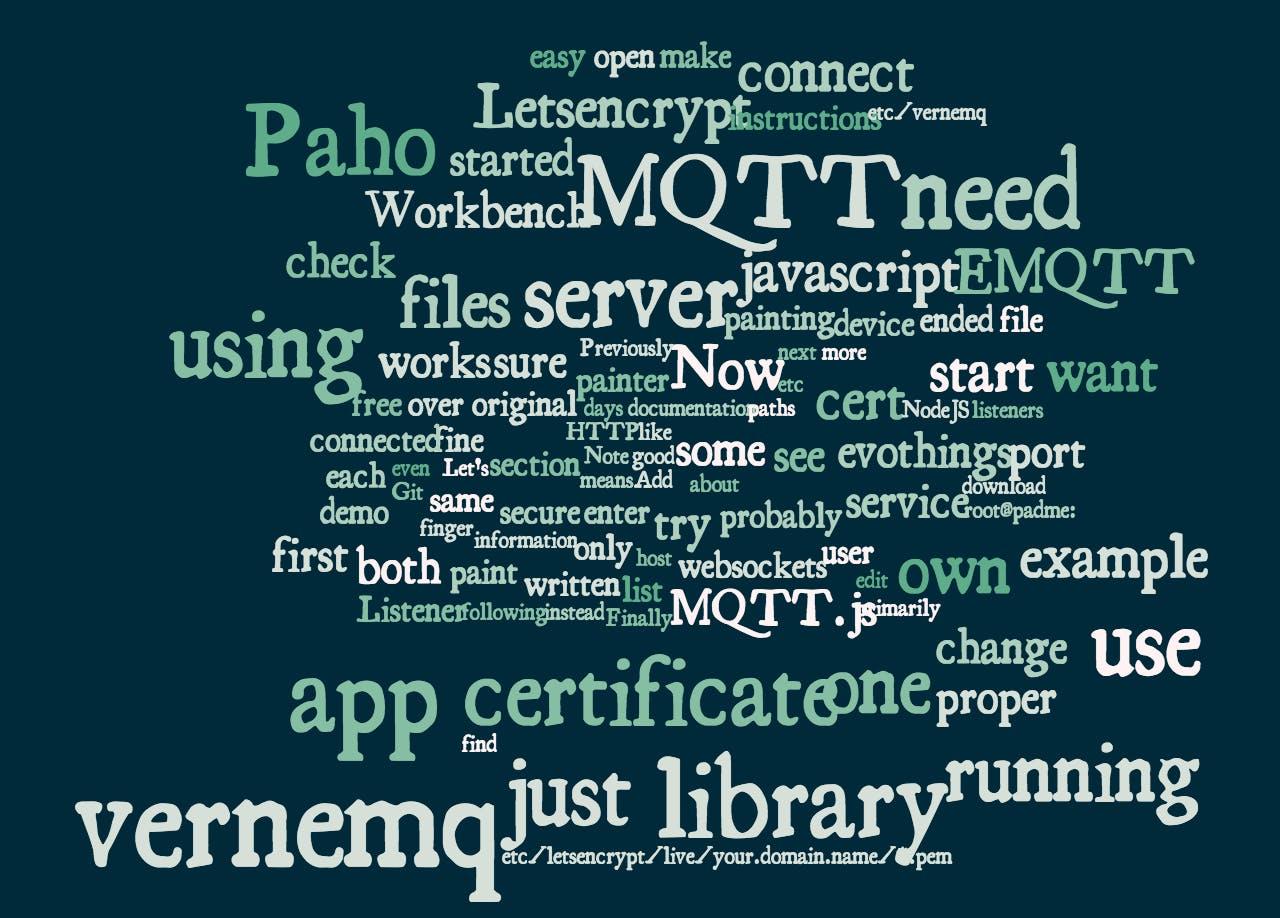 Demonstrator Template for MQTT Mobile Interaction