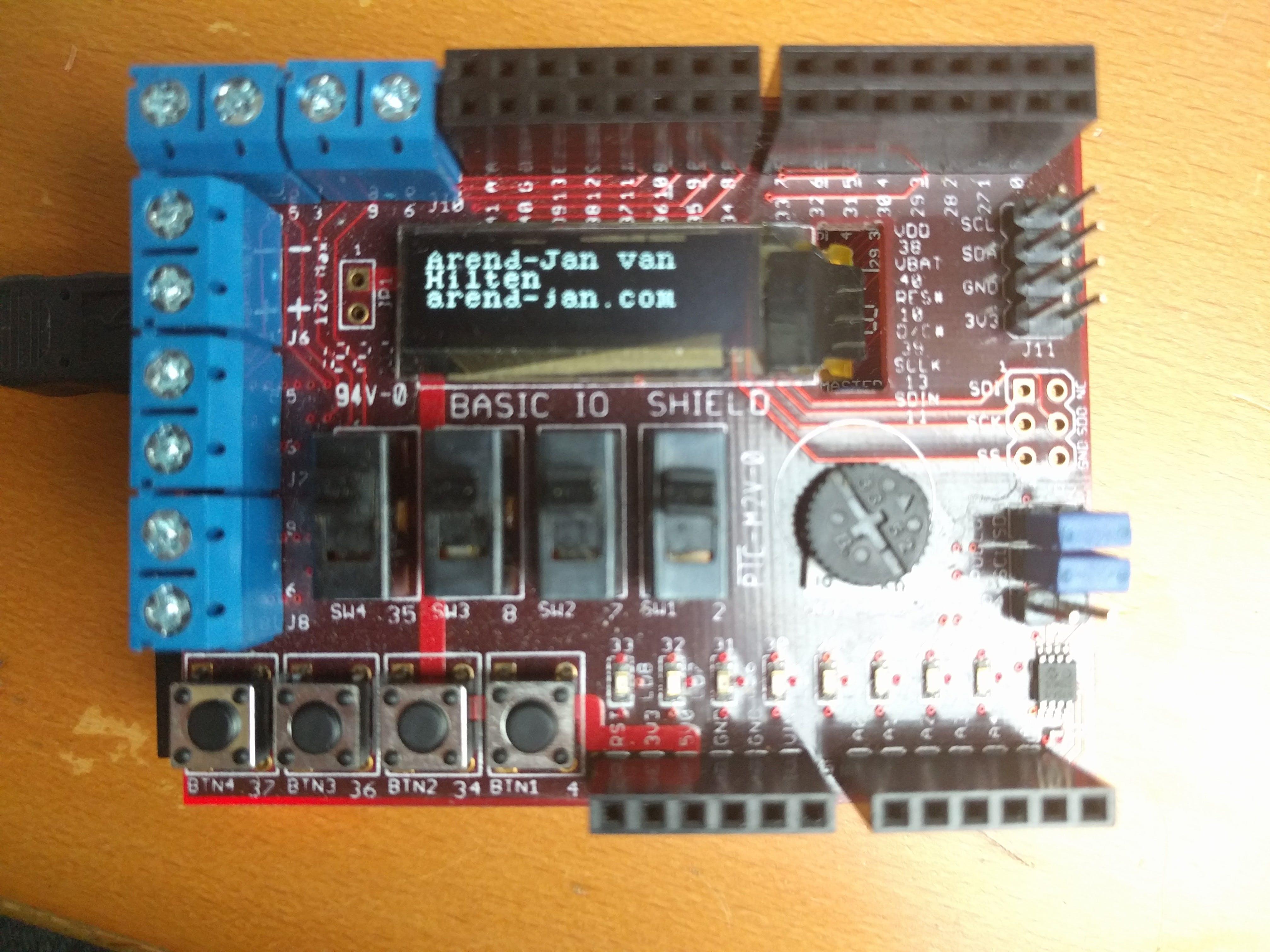 Basic IO Shield Start Project