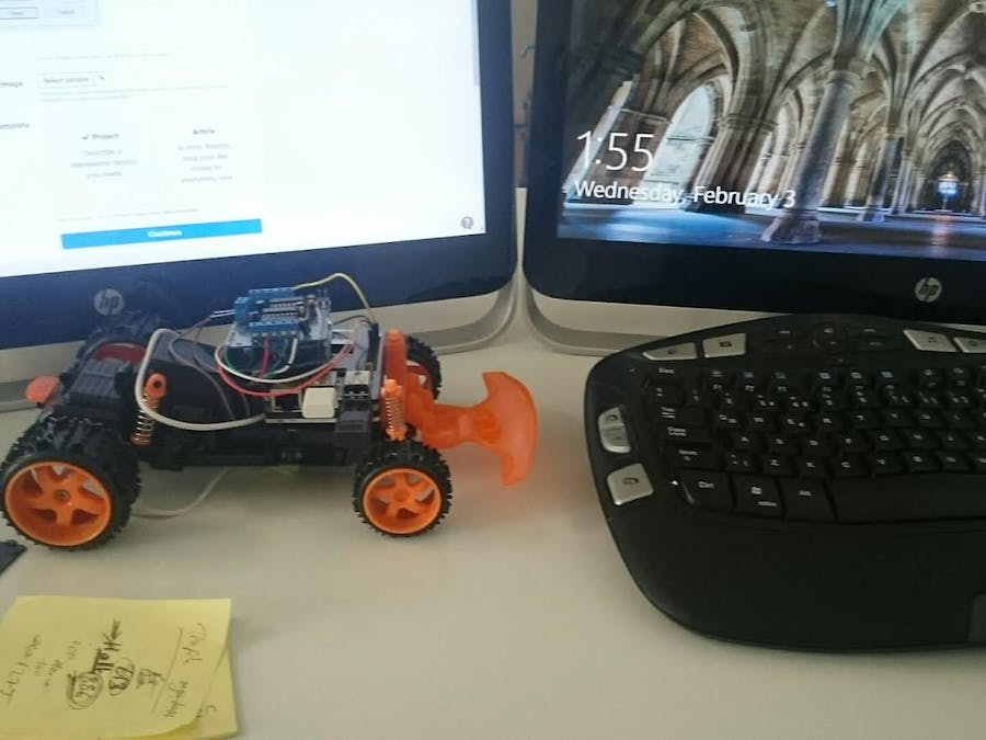 Android Controlled Toy Using Raspberry Motor Shield