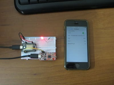 Detect iBeacon using Spark Core and BLE Mini