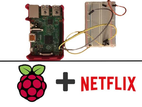 AWS IoT Netflix Remote Pause Button Using Raspberry Pi