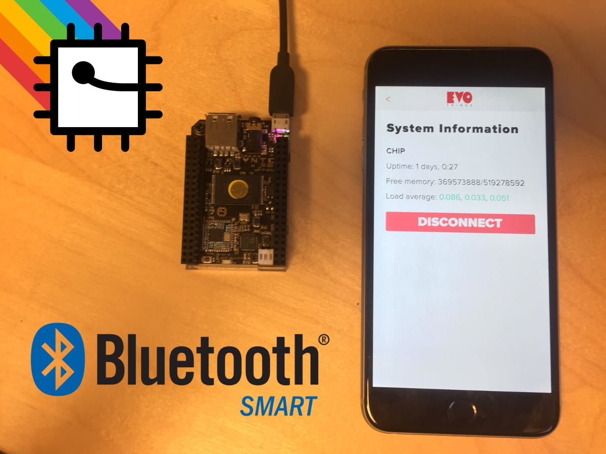 Connect a Mobile Application to your C.H.I.P. Using BLE