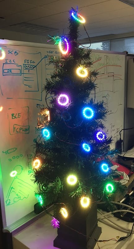 Christmas Decorations with NEO Pixel Rings