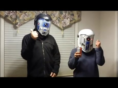 Star Wars Droid Translator Helmets