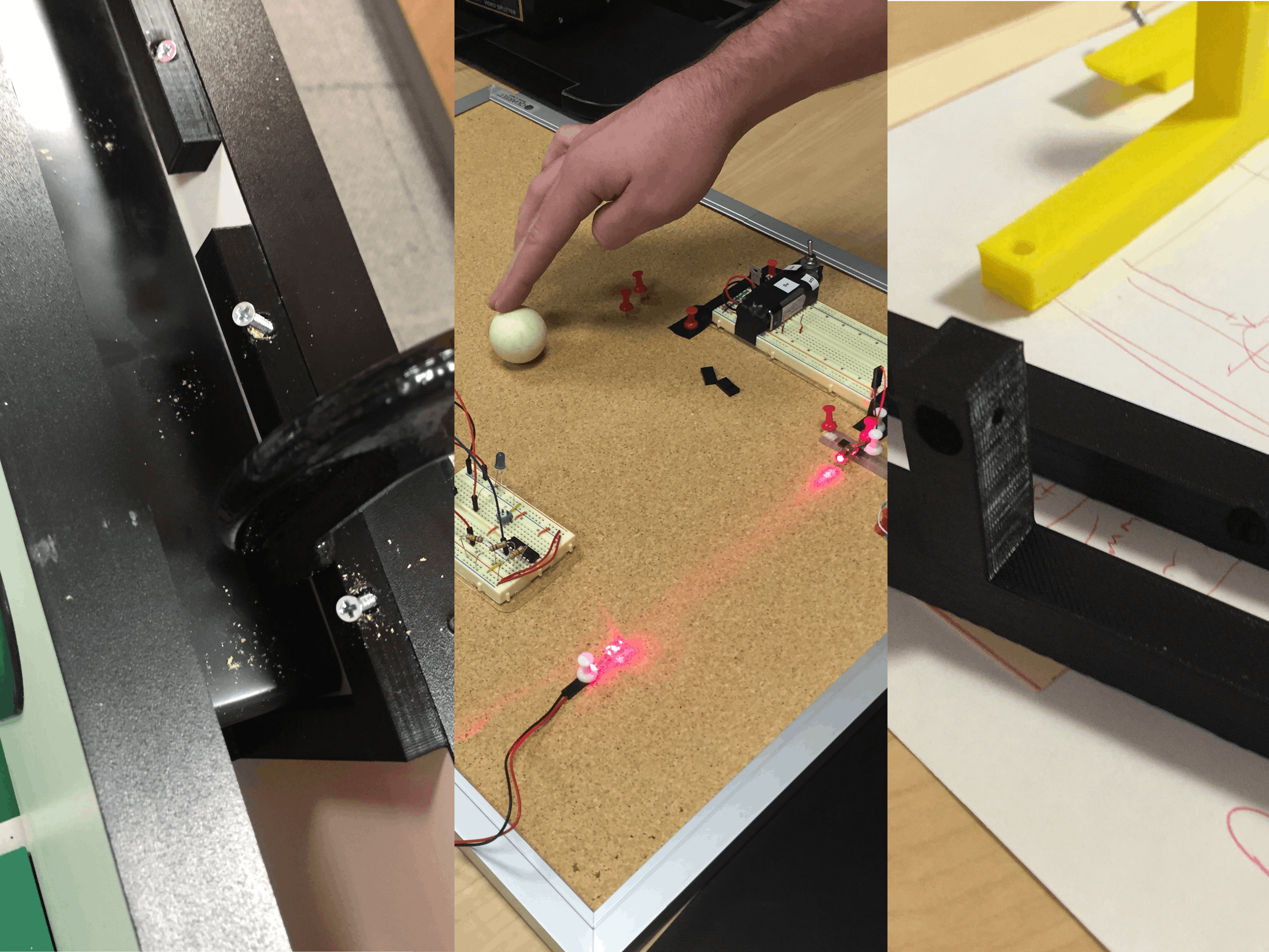 Foosball with Fricken Lasers, 3D Printing, Machine Learning