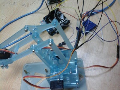 Control Robot Arm with your Android Phone