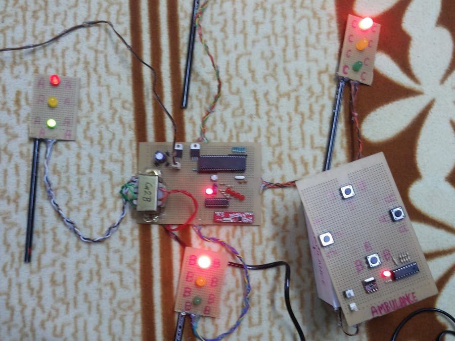Superb Smart Traffic Lights For Emergency Vehicles Hackster Io Wiring Digital Resources Llinedefiancerspsorg