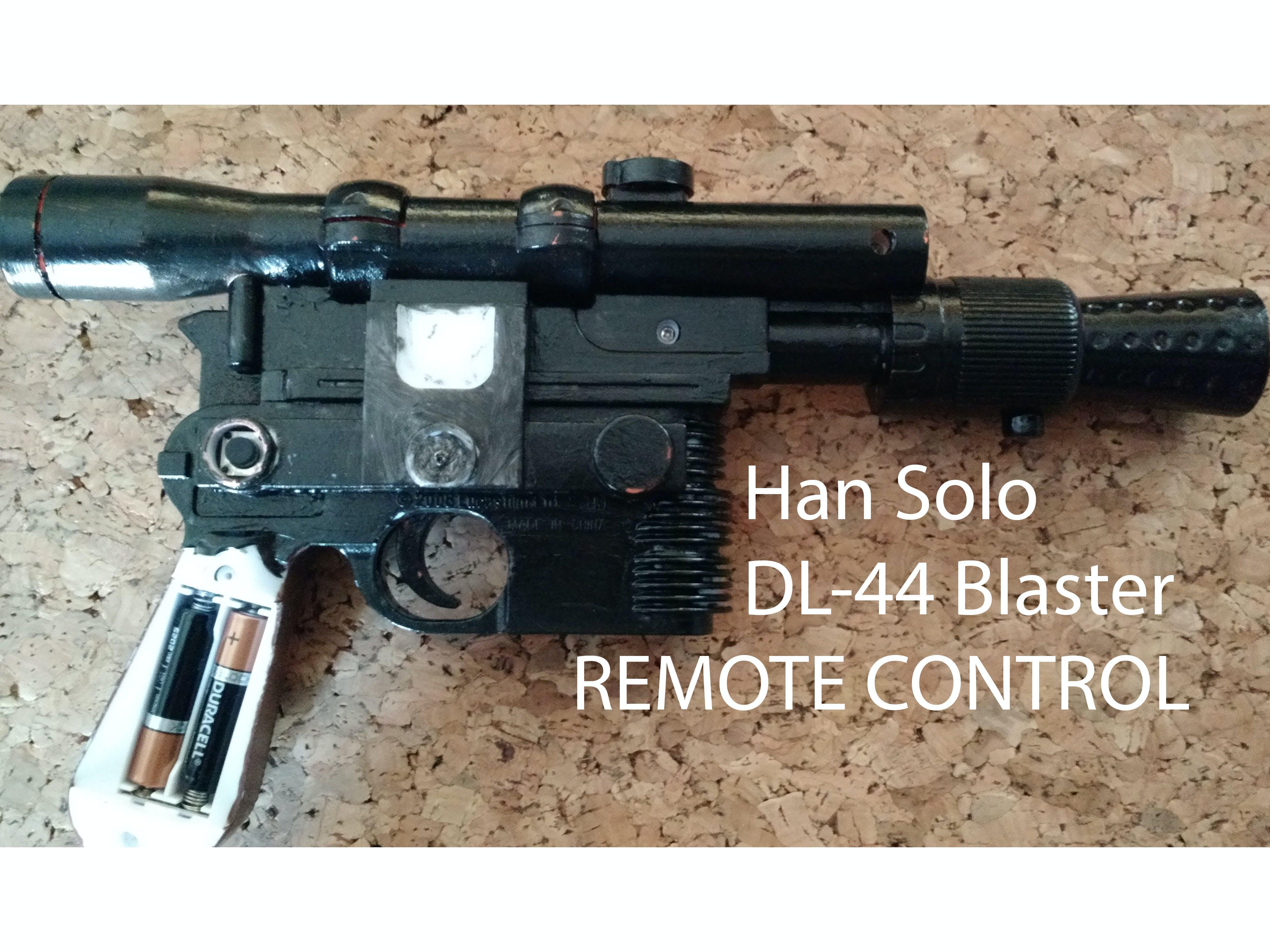 Han Solo DL-44 Blaster Remote