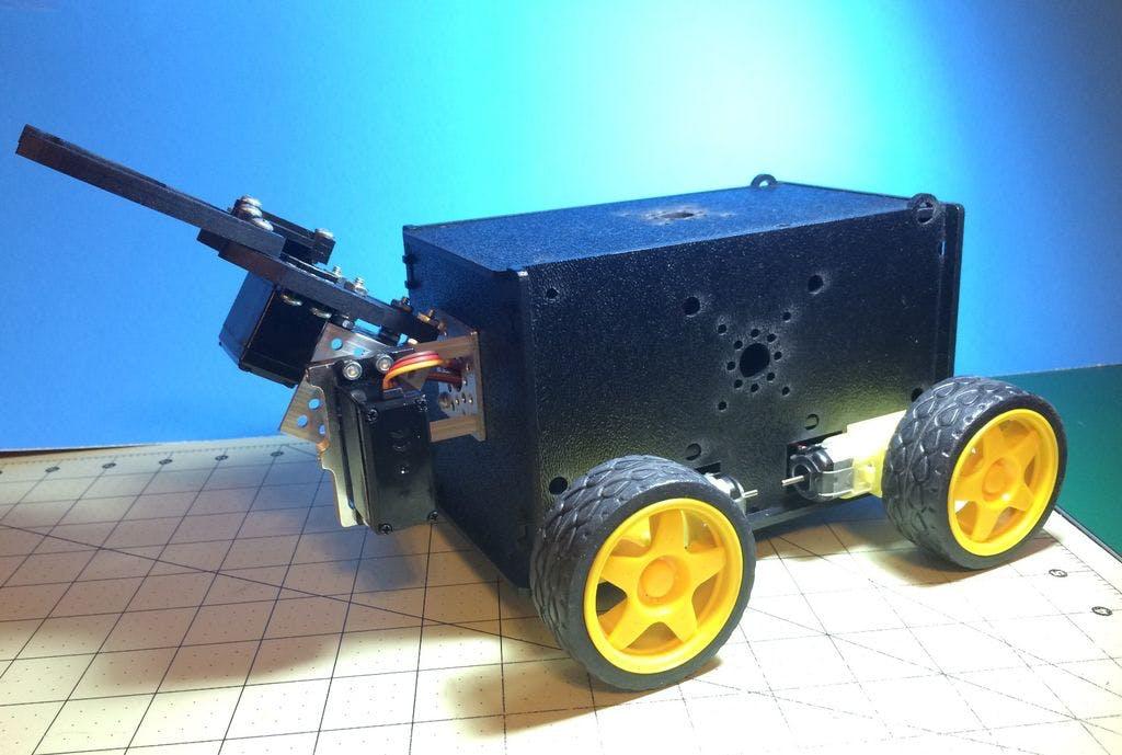 Remote Control Gripper Bot
