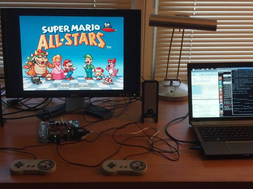 BeagleSNES: The Embedded BeagleBoard SNES Emulator